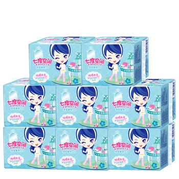 七度空间少女系列夜用卫生巾40片