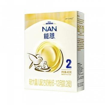 瑞士•雀巢能恩2段婴儿配方奶粉400g