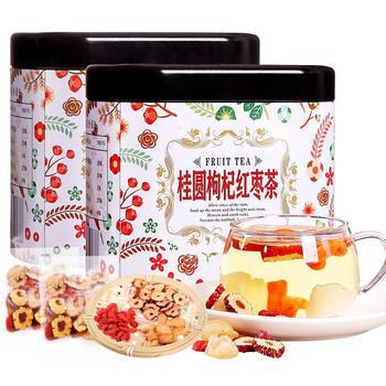 四月茶侬 桂圆枸杞红枣茶100gx2罐