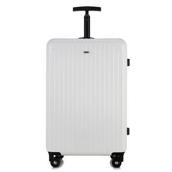 萨兰丹迪纯色镜面单拉杆旅行箱20