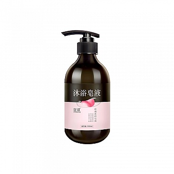 中国?宣琪玫瑰沐浴皂液550ml