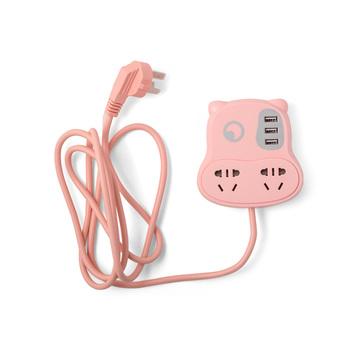 中国•魔法城堡小牛USB多用插线板