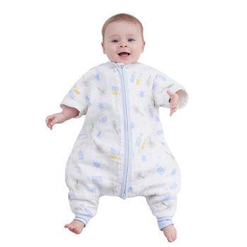 欧孕宝宝夏天纱布婴儿睡袋四季款