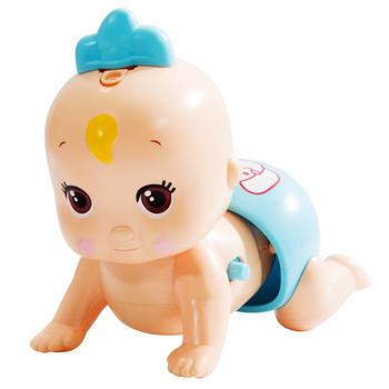 爱亲亲 趣味发声婴幼儿益智娃娃