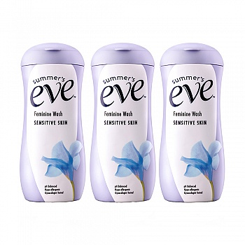 美国•夏依Summer's Eve女性专用洗液(敏感肌肤)237ml*3瓶