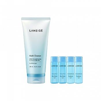韩国•兰芝(LANEIGE)多效净肤洁颜膏  5件套组