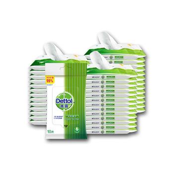 中国•Dettol 滴露 卫生湿巾10片*40包