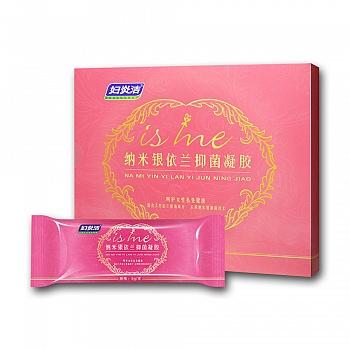 中国•妇炎洁 纳米银依兰抑菌凝胶5g*5支