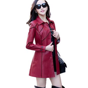 中国•落雁莎中长款长袖时尚气质纯色