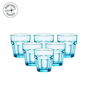 Bormioli Rocco 硬石玻璃水杯A款 6只装
