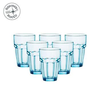 Bormioli Rocco 硬石玻璃水杯B款 6只装