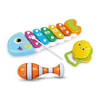 小鱼鱼音乐套装海洋套装儿童玩具