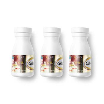 钙尔奇(Caltrate) 添佳片 钙片 1.04g*100片*3瓶