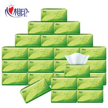 心相印茶语系列整箱24包三层130抽