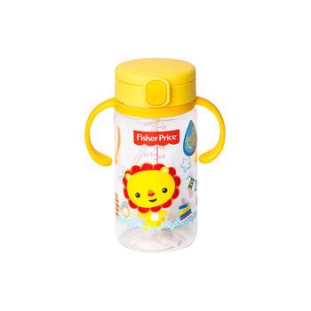 费雪重力球吸管双把握学饮杯黄色