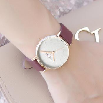 聚利时时尚皮带?#21152;?#20013;性石英手表