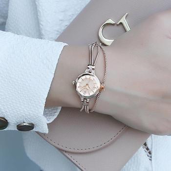 聚利时手链小表盘链带石英女士表