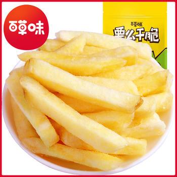 百草味 薯条90gx1袋办公室休闲零食