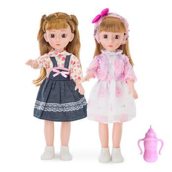 奥贝比43厘米高智能发音芭比娃娃