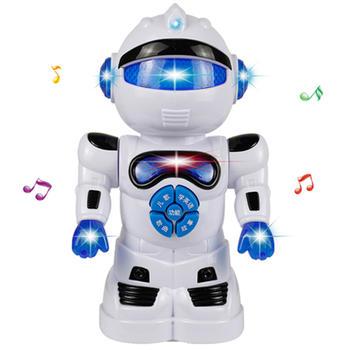 奥智嘉会讲故事的灯光音乐机器人