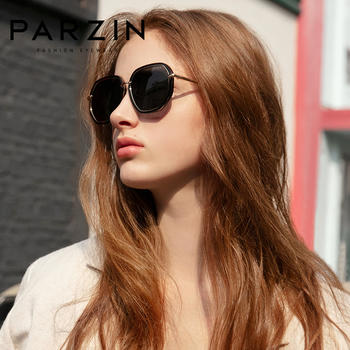 帕森时尚新品 新潮多边形 复?#29260;?#20809;太阳镜女大框墨镜