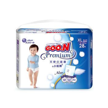 GOO.N大王纸尿裤天使XL28片