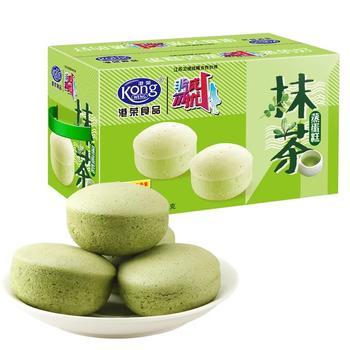 港荣蒸蛋糕 抹茶味900g
