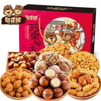 憨豆熊 零食大礼包1232g-7袋