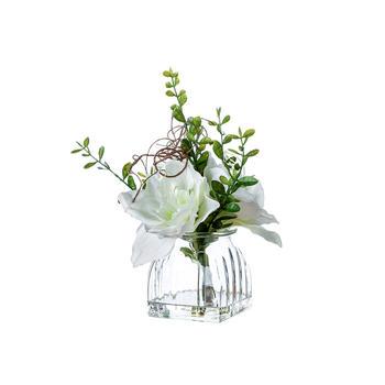 奇居良品 卡纳尔白色整体花艺