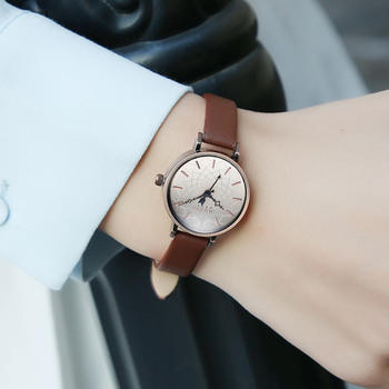 聚利时韩版女学生时尚复古手表