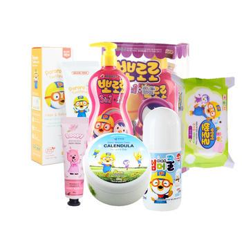 韩国 啵乐乐儿童洗护囤货大礼盒6件套