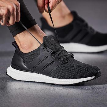 adidas阿迪达斯男?#20248;?#27493;鞋2018新款潮流运动鞋BB6166