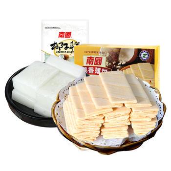 南国美味小食175g组合椰子糕薄饼