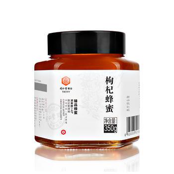 北京同仁堂臻品枸杞蜂蜜350g/瓶