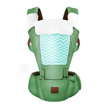 Pouch宝宝前抱式多功能背带腰凳