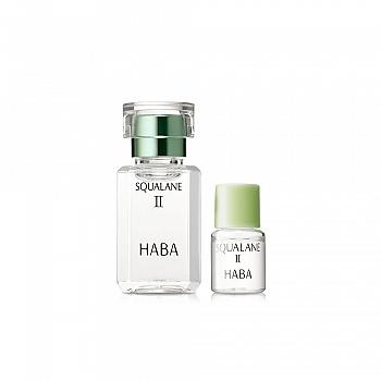 HABA 鲨烷精纯美容油II(鲨烷精纯美容油II 15ml+鲨烷精纯美容油II 4ml)2件套组