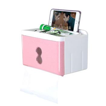 Ymer时尚浴刷纸巾盒置物架免打孔