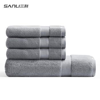 三利五星酒店浴巾+3同款毛巾套装