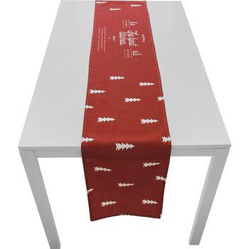 范居态度红色简约电视柜茶几桌旗