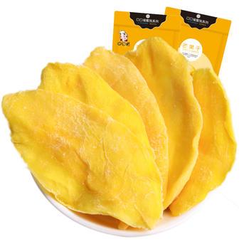 口口福芒果干100g 果肉肥嫩美味 特产休闲蜜饯水果干