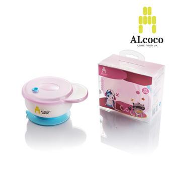 ALCOCO吸盘碗单耳婴幼儿辅食碗