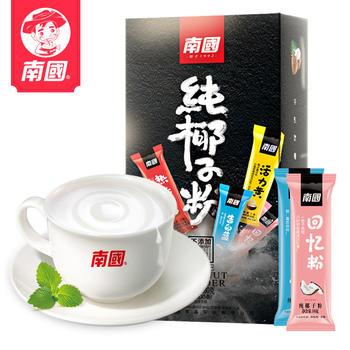 南国新品纯椰子粉160g盒 含10小包
