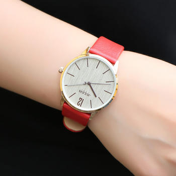 聚利时潮流韩版时尚大表盘手表女