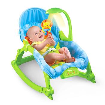 奥贝比 婴儿多功能摇椅折叠电动