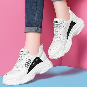 运动鞋女韩版女鞋原宿春季跑步鞋