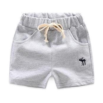 贝壳元素夏装男纯色运动短裤kzb098