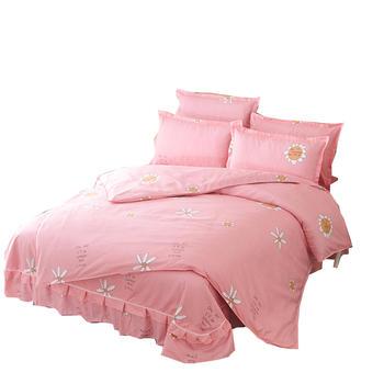 欧朵思磨毛四套件床裙 8色可选