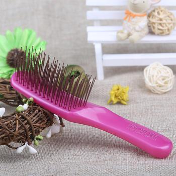 KAI贝印 花蕊护发梳 齿轮呈U型梳子,小巧便携