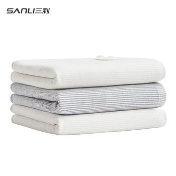 三利抗菌毛巾纯棉中空纱洗脸面巾