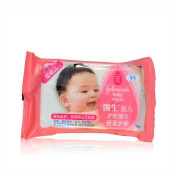 强生婴儿 倍柔护肤湿巾10片